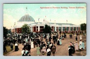 Toronto ON, Agricultural Building, Exhibition, Vintage Ontario Postcard X40