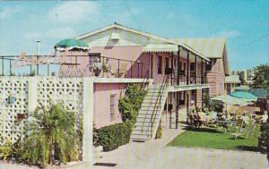 Florida St Petersburg Van Sicklen's Lorelei Motel 1966