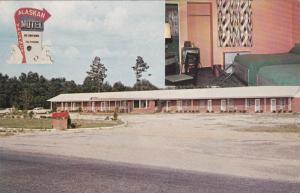 BAMBERG , South Carolina , PU-1959; Alaskan Motel, 2-Views