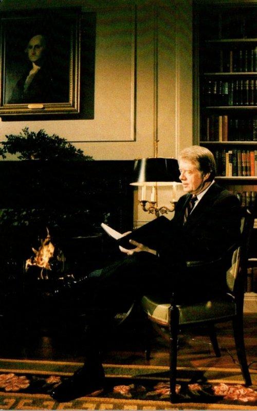 President Jimmy Carter Reflecting On The Camp David Peace Talks