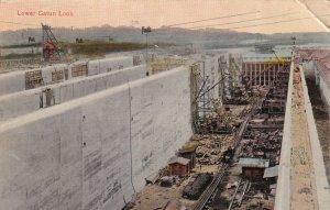 GATUN, Panama, PU-1913; Lower Gatun Lock