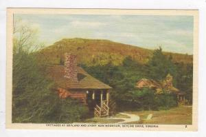 Cottages at Skyline and Stony Man Mountain, Skyline Drive, Virginia, 40-60s