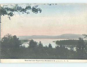Divided-Back LAKE WAUKEWAN WEST END Meredith - Winona New Hampshire NH F4150