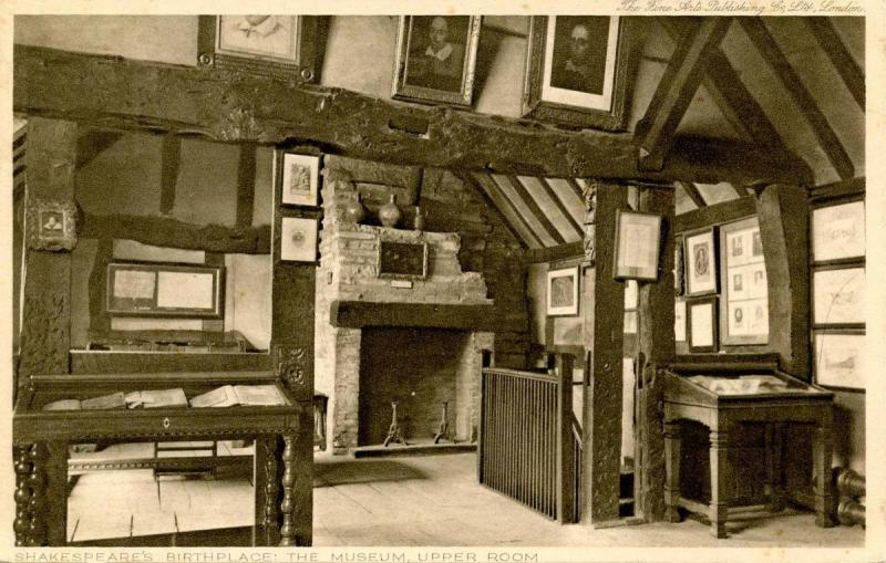 UK - England, Stratford-Upon-Avon. Shakespeare's Birthplace, Upper Room
