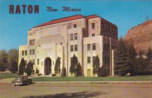 RATON , New Mexico, 50-60s ; Colfax County Building