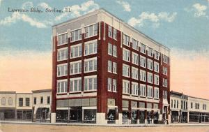 Sterling Illinois~Lawrence Building~Storefront Window Displays~Now Lofts~1910 PC