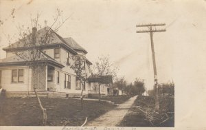 RR: GOWRIE, Iowa , 1908 ; Residences