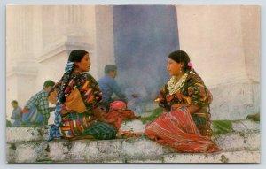 Chichicastenango El Quiché Guatemala~Indigenas Native Indians 1950s