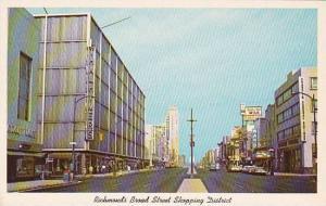 Virginia Richmond Broad Street Shopping District