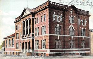 Lebanon Pennsylvania~YMCA~Will Be My Home After Saturday~S&L Co 1908 Postcard
