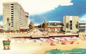 Postcard Holiday Inn Ventura California