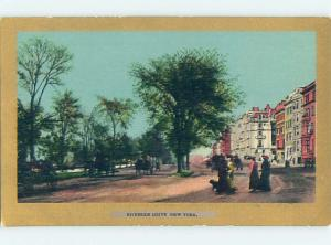 Pre-1907 ROAD OR STREET SCENE New York City NY hJ5747