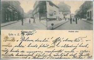 VINTAGE POSTCARD:  CZECH REPUBLIC - Kolín 1905