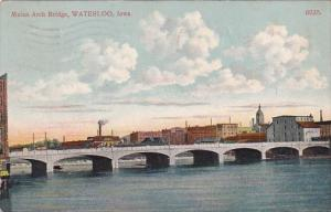 Iowa Waterloo Melan Arch Bridge 1910