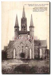 Postcard Old Chapel St Fiacre near Le Faouet This edifice dates from the fift...