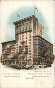 New York City Hotel Imperal Broadway & 31st c1905 Postcard