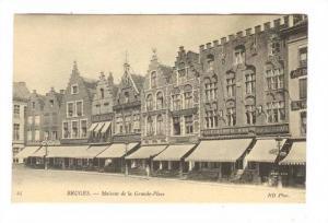 BRUGES , Belgium, 00-10s ; Maisons de la Grande-Place