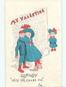 Divided-Back CHILDREN SCENE Great Postcard AA6347