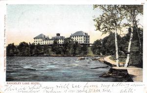 Rangeley Maine~Rangeley Lake Hotel~Waterfront Boardwalk Path~1905 Postcard