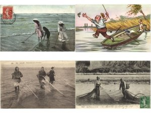 FISHERY FISHING INDUSTRY  SECTEUR DE LA PÊCHE FRANCE 330 CPA Pre-1940
