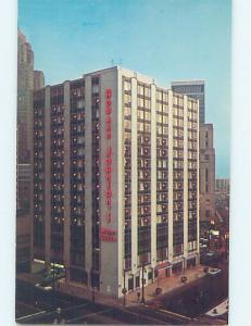 Unused Pre-1980 HOWARD JOHNSON HOTEL Detroit Michigan MI c1517-12