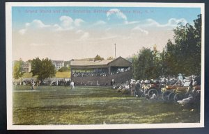 Mint USA Color Picture Postcard Baseball Grand Stand & Ball Grounds Bethlehem