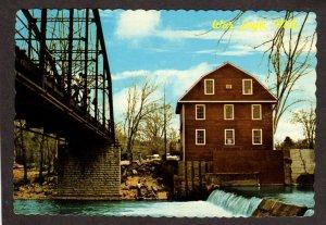 AR War Eagle Mill Highway 12 Arkansas Postcard