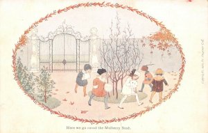 LP21 Willebeek Le Mair  Nursery Rhymes Mulberry Bush Postcard