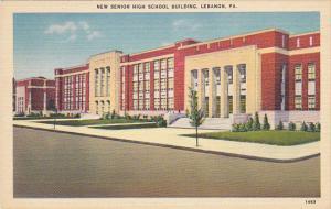 New Senior High School Lebanon Pennsylvania