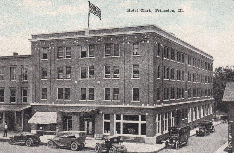 PRINCETON, Illinois, 1900-1910s; Hotel Clark