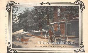 Old Toll Gate Monticello NY 1908