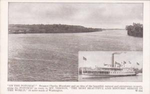 Steamer Charles Macalester On The Potomac River