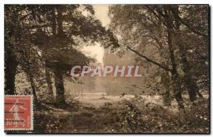 Old Postcard Parc de Saint Cloud