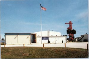 postcard Cape Canaveral FL - USAF Space Museum -Launch Complex 26 blockhouse