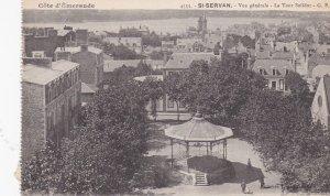 ST-SERVAN, France, 1900-1910s; Vue Generale, La Tour Solidor