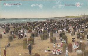 Netherlands Scheveningen Strandgezicht Beach Scene
