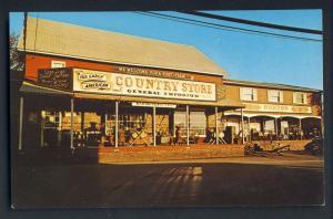 Mt Pocono, Penn/PA Postcard, Memorytown USA, Country Store