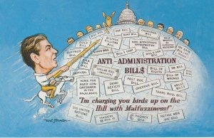 President Reagon , Anti-Administration BIll$ , 1982