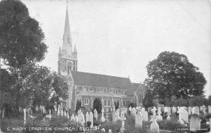 England Berkshire St. Mary Parish Church, Slough 1913