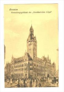 Verwaltungsgebaude Des  Norddeutschen Lloyd , Bremen, Germany, 1900-1910s