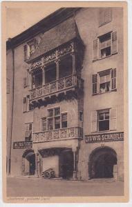 Ludwig Schaufler, goldenes Dachl, Innsbruck, Tirol, Austria, 10-20s