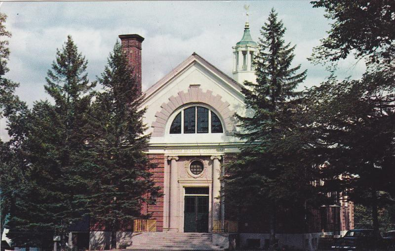 William Bingham Gymnasium, Gould Academy, Bethel, Maine, 40-60´s
