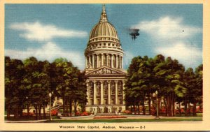 Wisconsin Mdison State Capitol Building 1947 Dexter Press