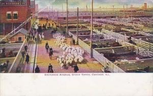 Illinois Chicago Exchange Avenue Stock yards