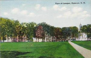 New Hampshire Hanover View Of Campus