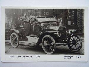 Motor Car FORD MODEL T c1911 RP Postcard by Pamlin Repro M2013