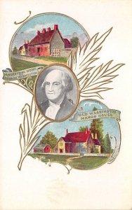 Old Washington manor house George Washington Unused