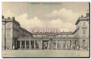Old Postcard Compiegne Chateau