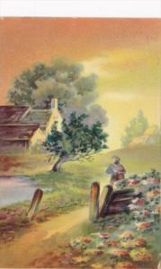 Tucks Landscape Scene O'Er Hill and dale Series