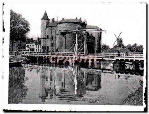 Modern Postcard Brugge Bruges Kruispoort Gate Holy Cross